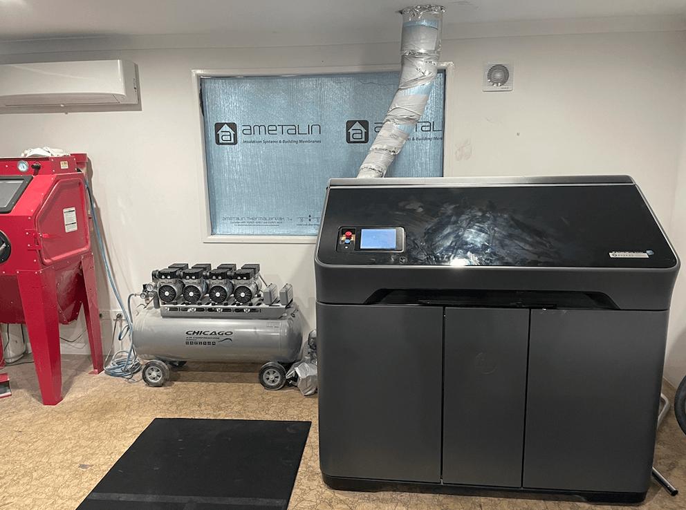 3d printing gold coast HP MULTIJET FUSION